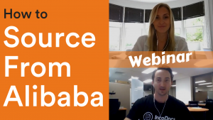 Webinar discussing how to source products from Alibaba online