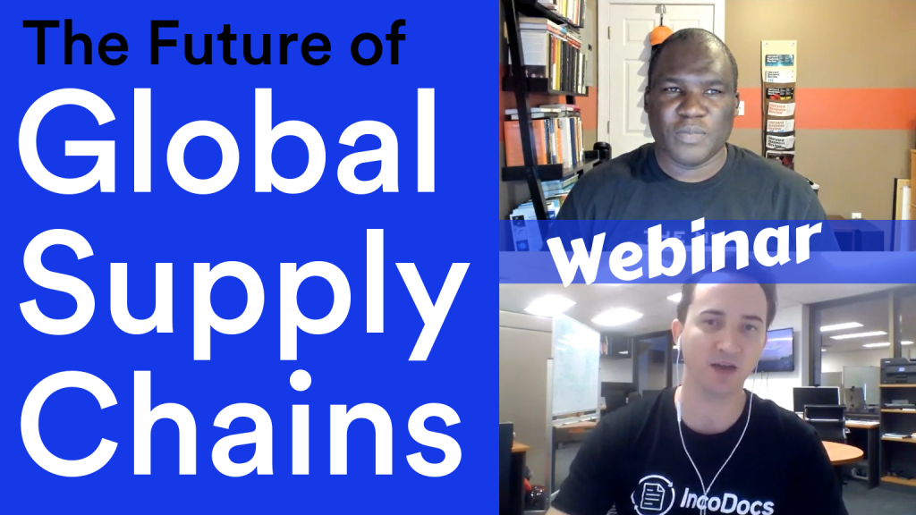 Podcast discussing the future of global supply chains.