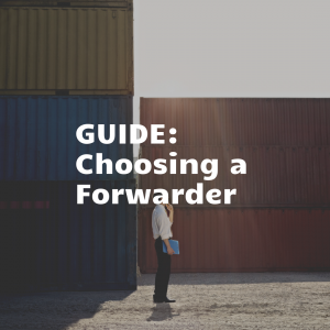 Man learning how to choose a freight forwarder