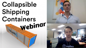 Webinar about collapsible shipping containers