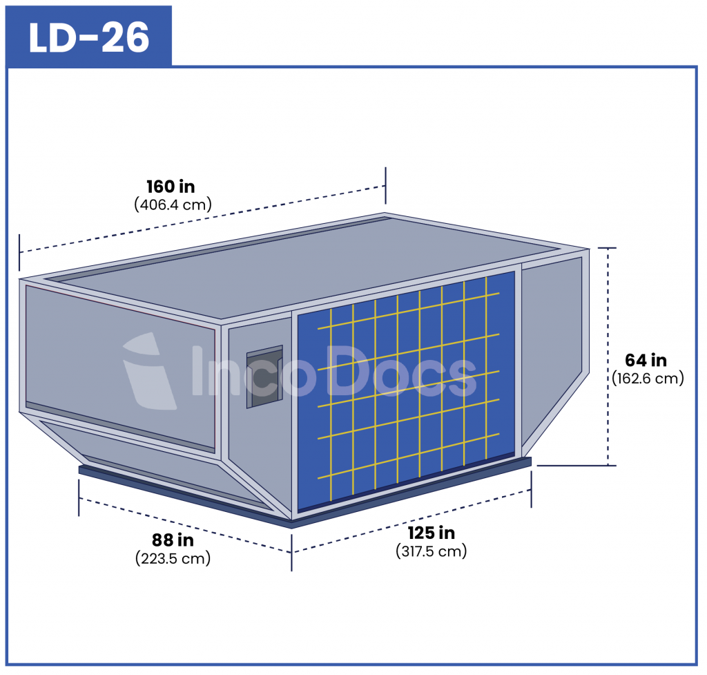 ULD LD-26 Air Container