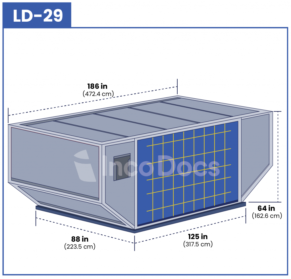 ULD LD-29 Air Container