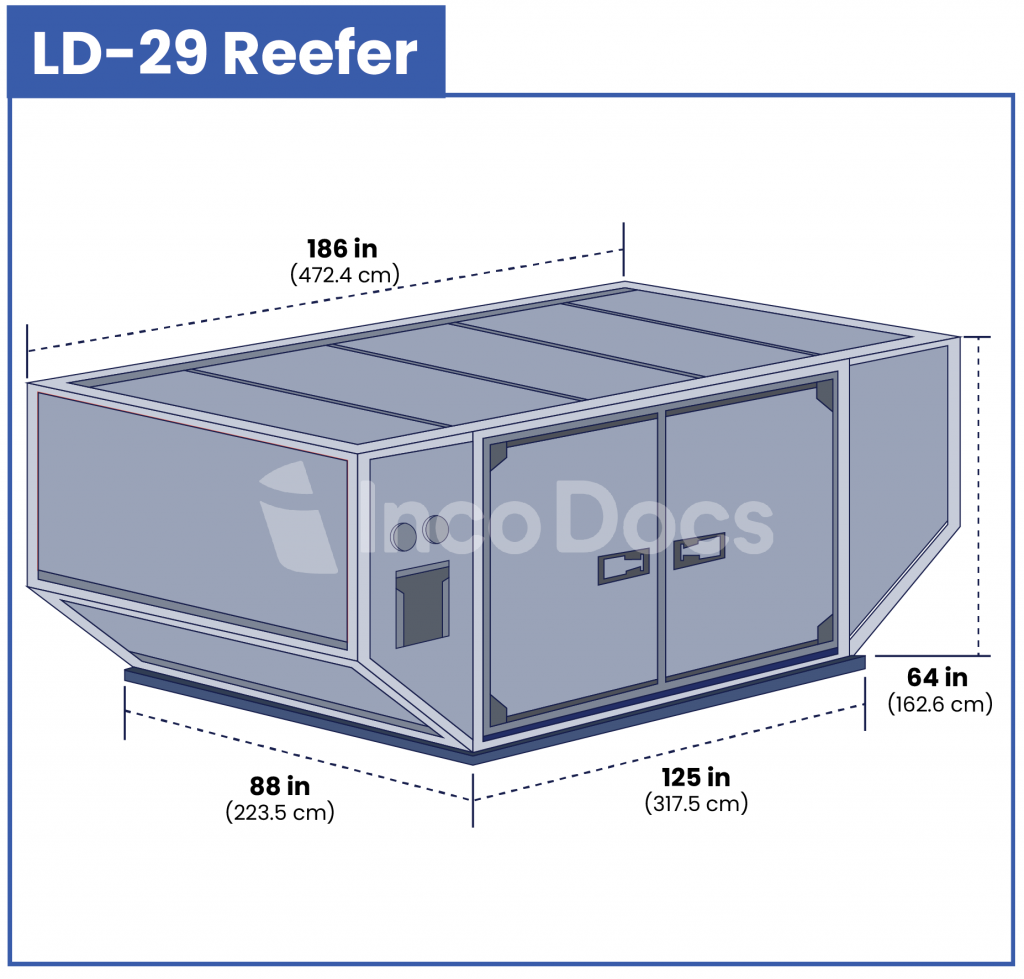 ULD LD-29 Reefer Air Container
