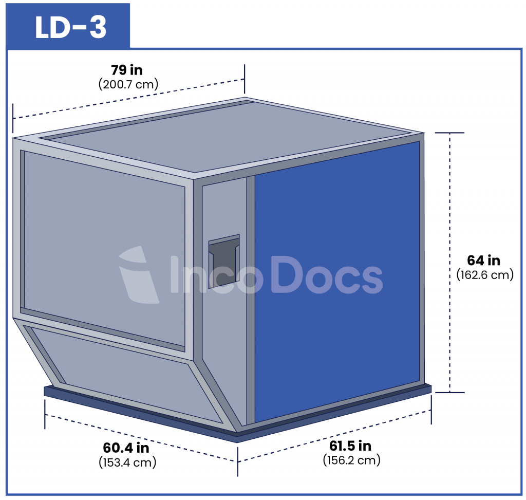 ULD LD-3 Air Container