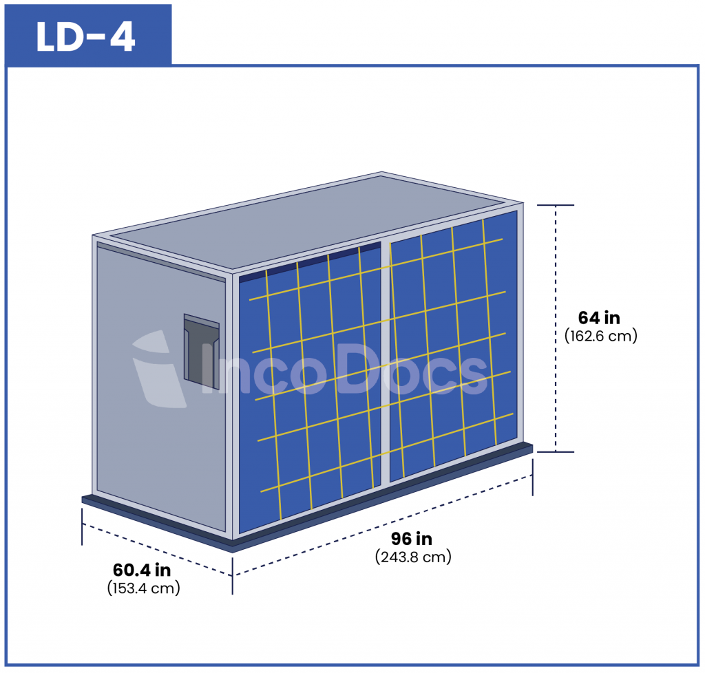 ULD LD-4 Air Container