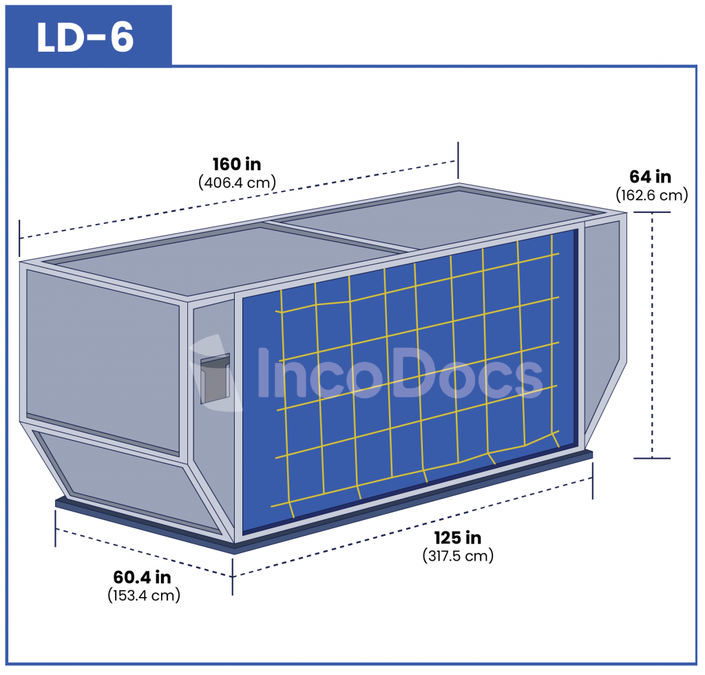 ULD LD-6 Air Container