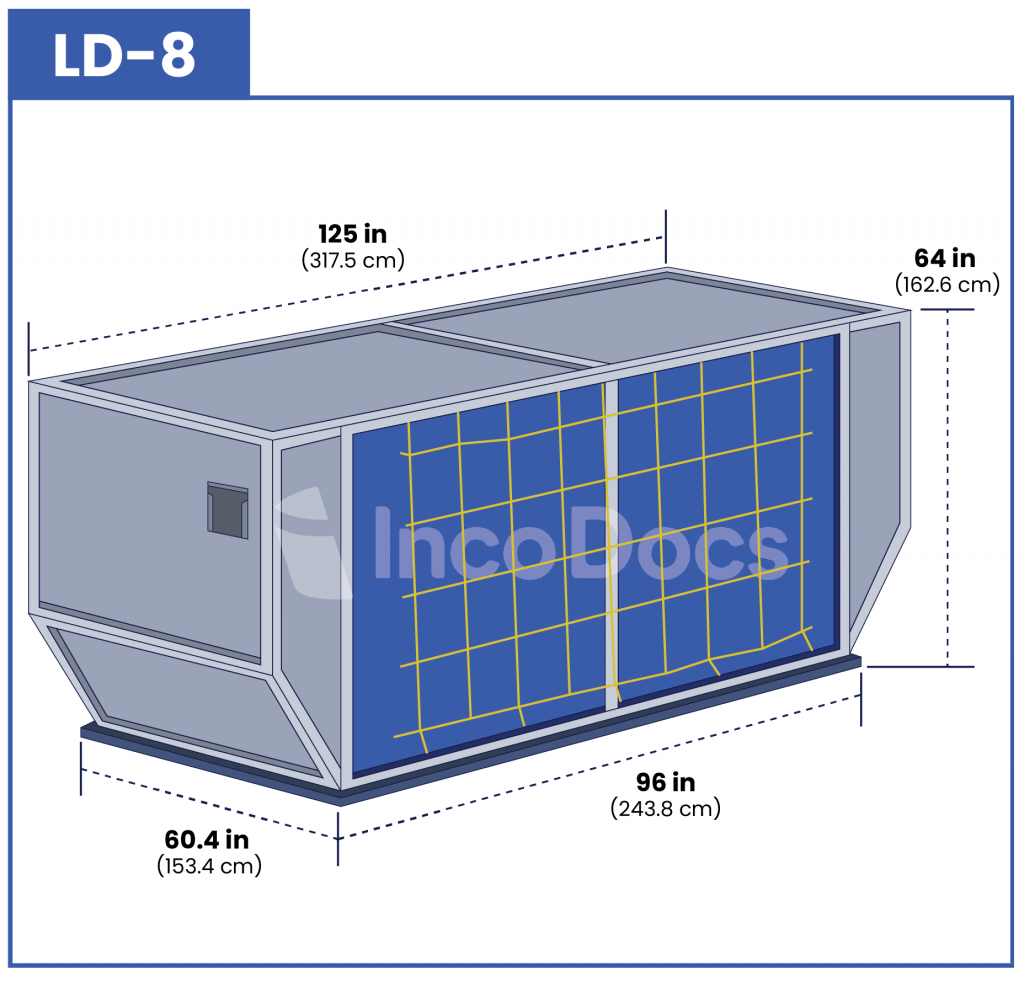 ULD LD-8 Air Container