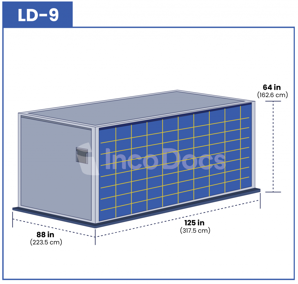 ULD LD-9 Air Container