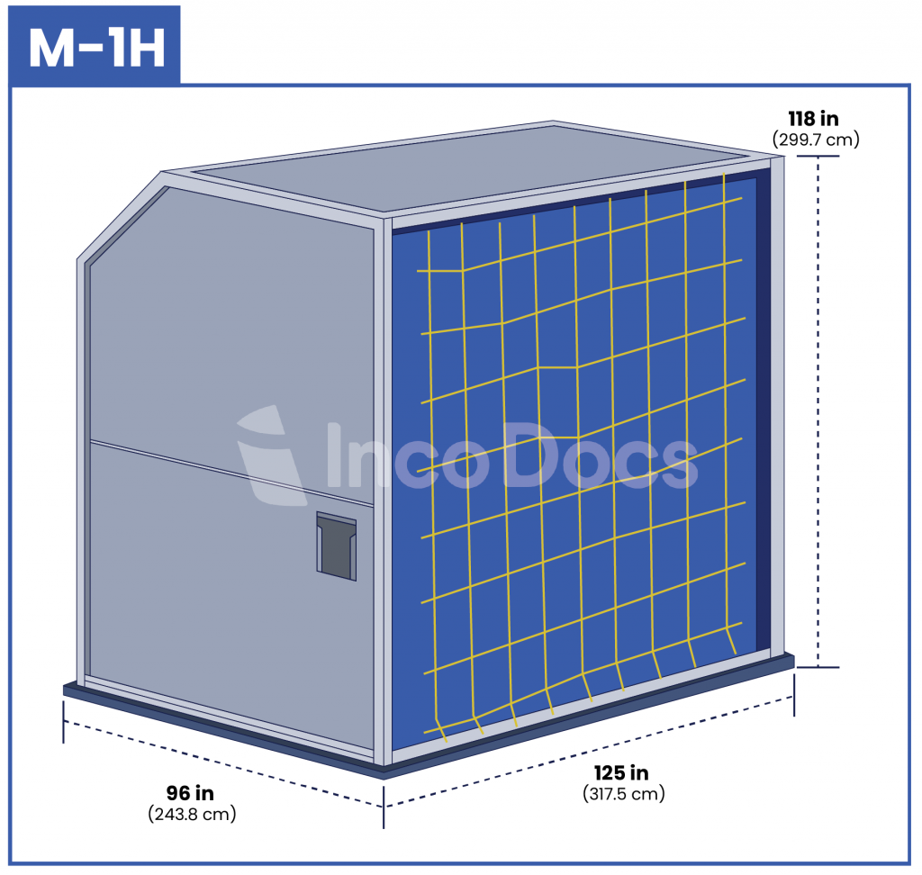 ULD M-1H Air Container