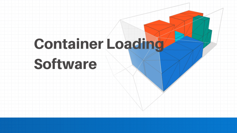 Software used to calculate loading of shipping containers
