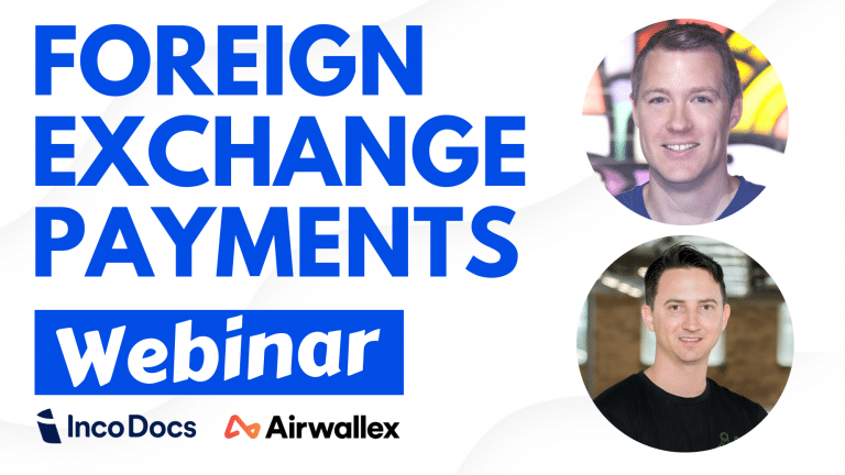 Webinar discussing foreign exchange fluctuations for importers and exporters.