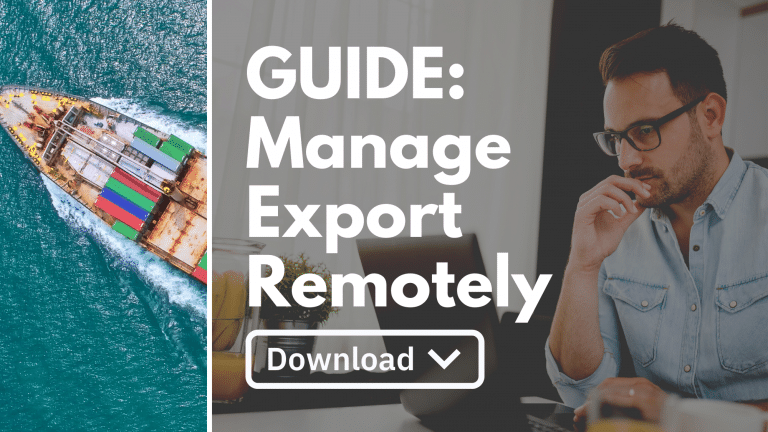 Manage Export Business Remotely
